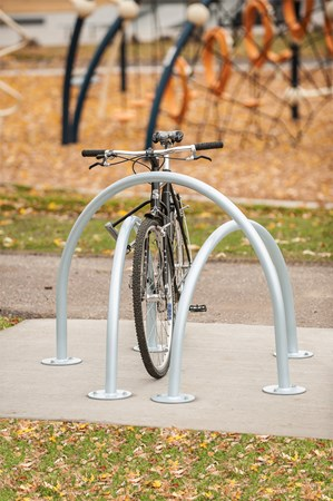 Arches Bike Rack - Triple