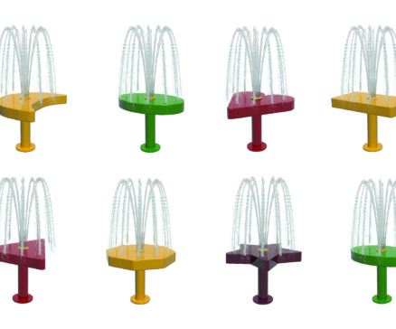 Tot Shape Spray Stands