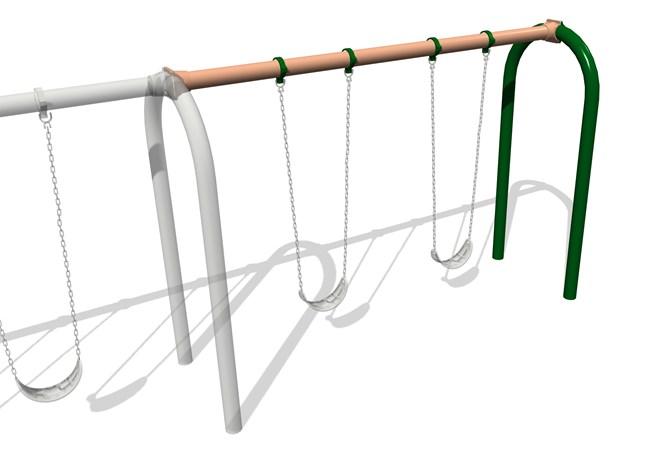 5' Arch Swing Frame Additional Bay