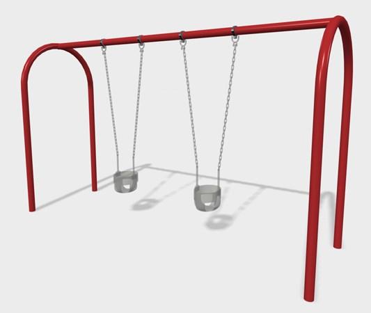 2' Arch Swing Frame