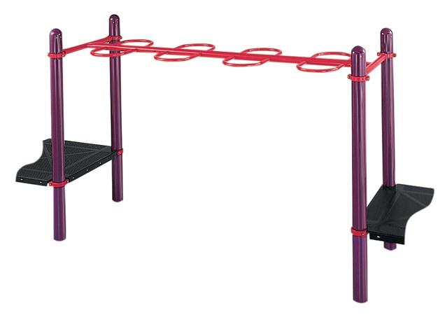 Single Beam Loop Horizontal Ladder (123')