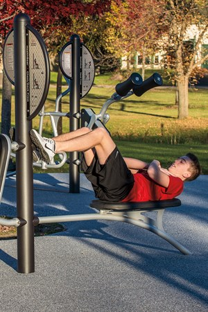 HealthBeat® Ab Crunch/Leg Lift