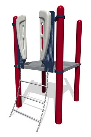 Wiggle Ladder w/Vibe® Handholds