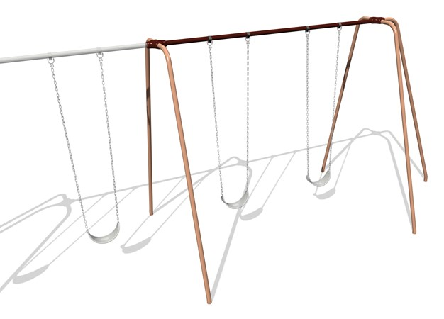 5000 Series Swing Frame 10' Height Additional Bay Anti-Wrap Hangers