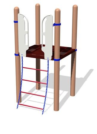 Wiggle Ladder w/SteelX® Handholds