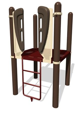 Vertical Ladder w/Vibe® Handholds