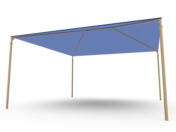 SkyWays® Hip (20'x20') Shade