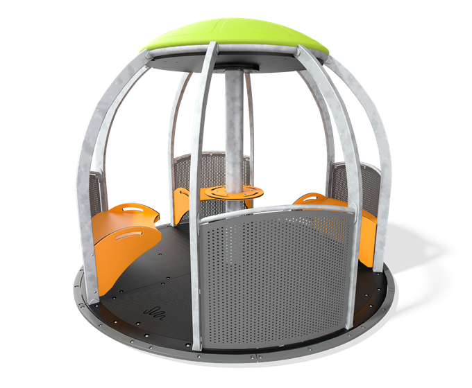 We-Go-Round® HDG with Perforated Panels