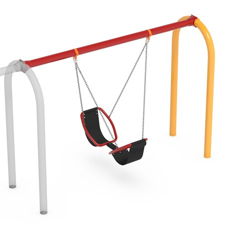 Friendship™ Swing with 5' Arch Swing Frame Additional Bay