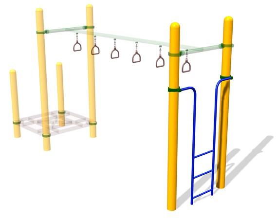 Vertical Ladder for Ring Bridge