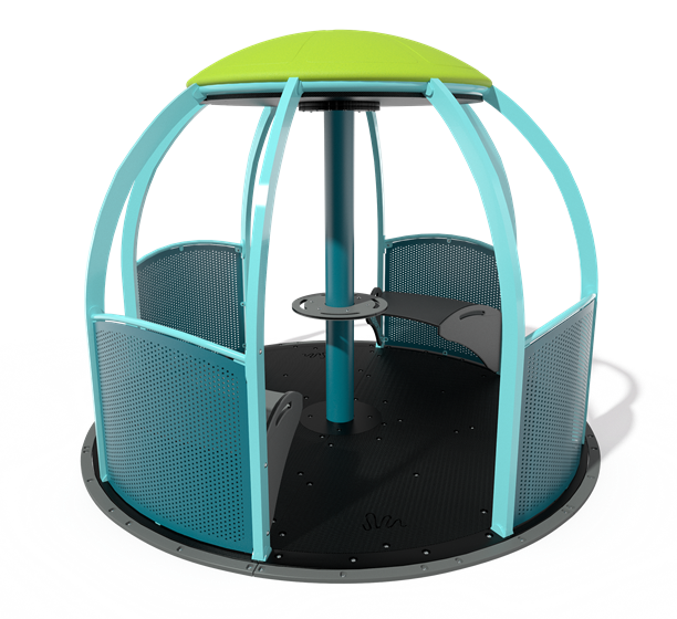 We-Go-Round® with Perforated Panels