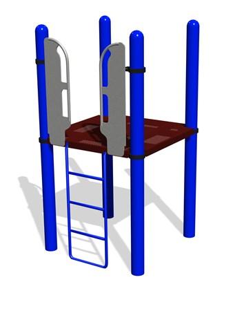 Vertical Ladder w/SteelX® Handholds