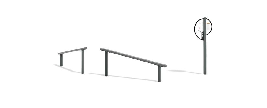 FitCore™ Extreme Angled Balance Beam (13+)