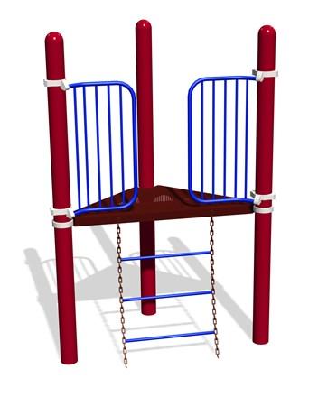 Wiggle Ladder 90° Tri-Deck