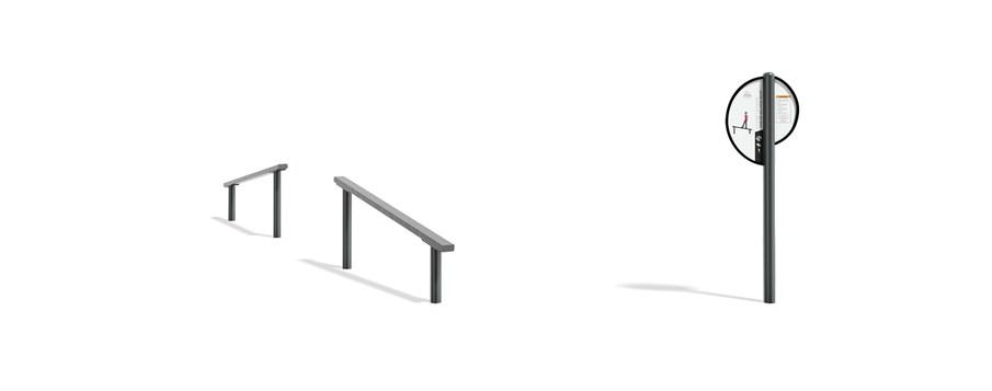 FitCore™ Extreme Angled Balance Beam (5-12)