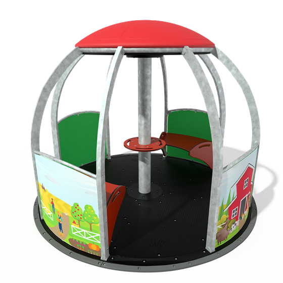 We-Go-Round® HDG with DigiFuse® Panels