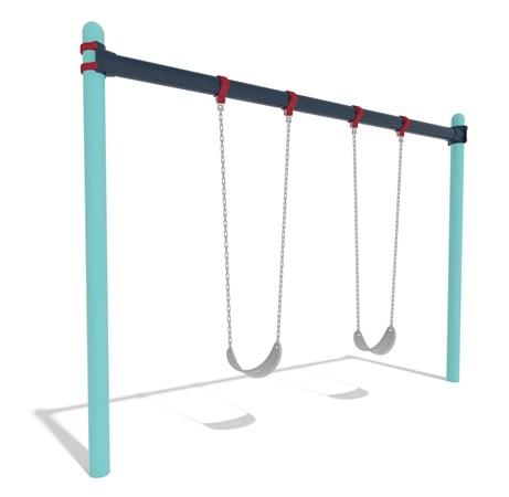 Single Post Swing Frame